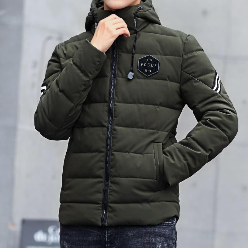 LiSENBAO Jacket Men Waterproof Coat Hooded Cotton Outerwear & Coats Sweater Warm Hooded Jackets jaqueta masculina Men's Clothing-in Parkas from Men's Clothing    1