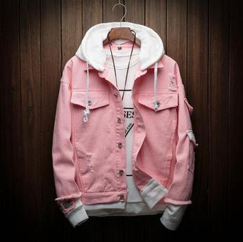 Autumn Hooded Denim Jacket  4