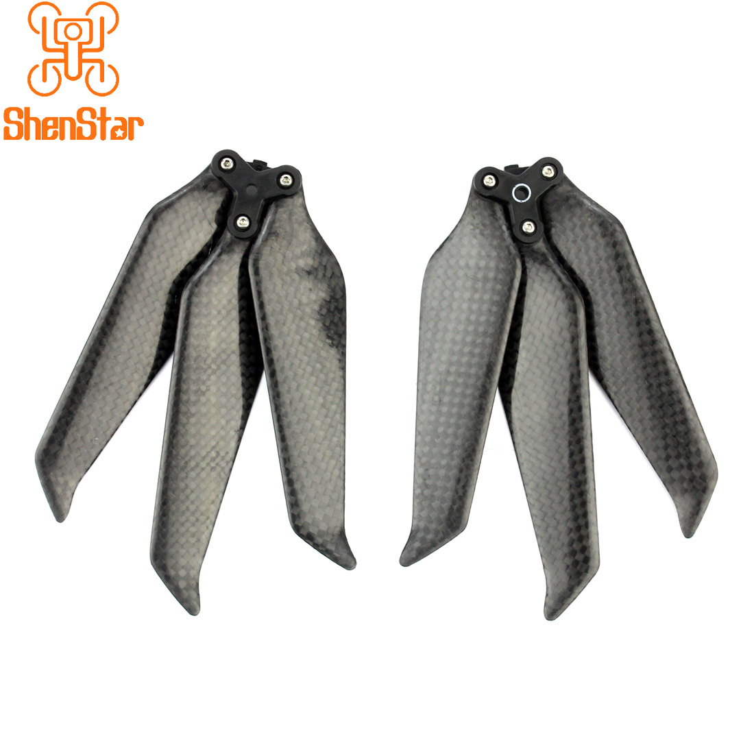 New Design 3Blade 8743 Full Carbon Fiber Propellers 8743F Foldable Low Noise CW CCW Props Paddle For DJI Mavic 2 Pro Zoom Drone