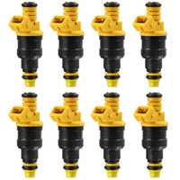 NEW 8Pc 0280150943 Fuel Injectors For Ford F150 F250 F350 Lincoln 4.6 5.0 5.4 5.8 V8