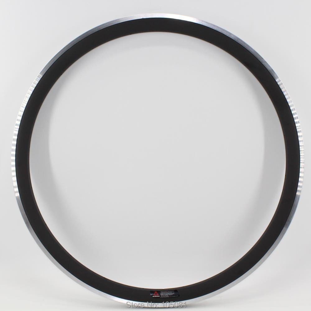 1Pcs New 700C 38mm clincher rim Road bike matte UD carbon fibre bicycle wheels rims with