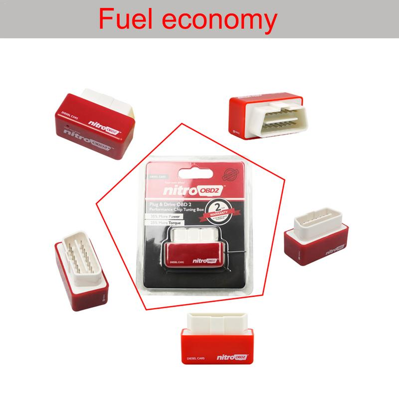 Image 5 - Plug And Drive OBD2 Economy Fuel Box Chip Upgrade Fuel Saver For Vehicles Fuel Gasoline Diesel Version-in Fuel Saver from Automobiles & Motorcycles