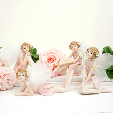 Fairy Home Decoration Accessories Modern Resin Angel Figurines Girl Ornament best europe gifts