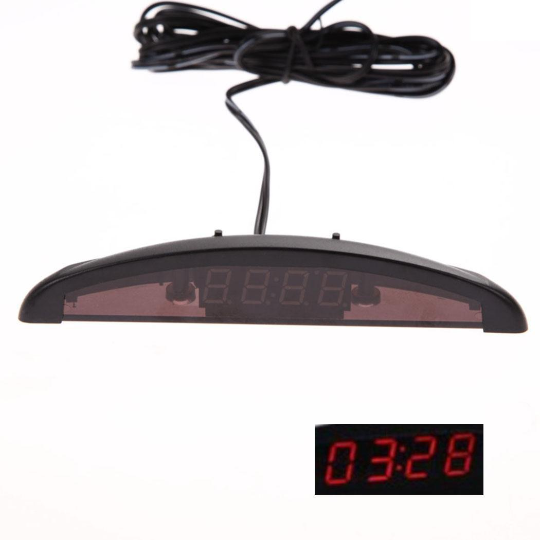 Durable Practical Luminous General Car Led Digital Adapter Display For Auto Clock Blue, Red, White, Green Crazy Price