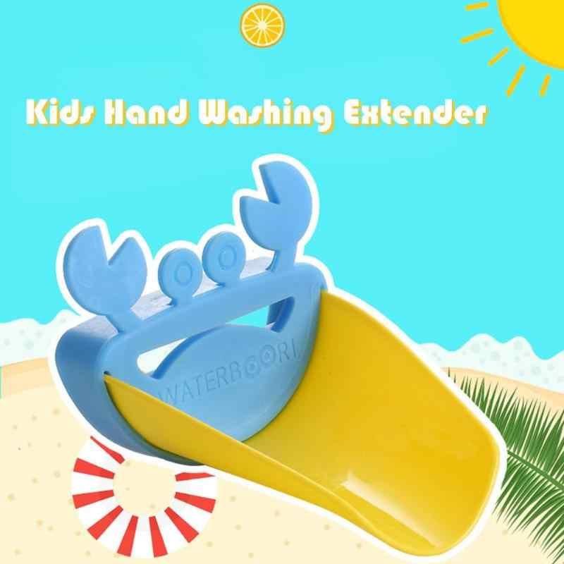 Sıcak Sevimli Musluk Genişletici Çocuk çocuklar Için Bebek Banyo Musluk Genişletici Bebek El yıkama Cihazı Aksesuarları