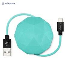 Кабель USBepower COSMO 100 см Type-C цвет мятный/COSMOCMT