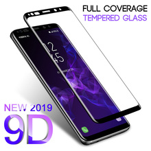 9D Full Curved Tempered Glass For Samsung Galaxy S8 S9 Plus Note 8 9 Screen Prot