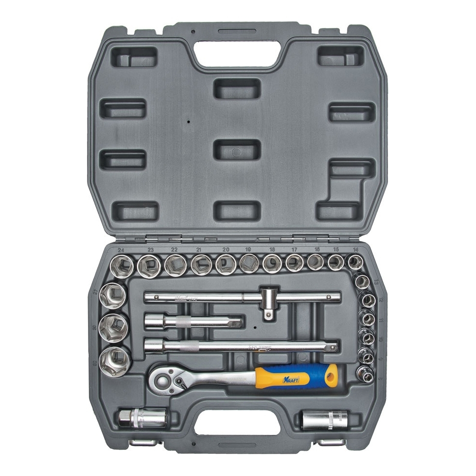 Hand tool set KRAFT CT 700302 26 items