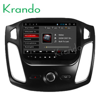 Krando Android 8.1 10.1 IPS Full touch car Multmedia player for Ford Focus 2012 2015 audio player gps navigation system wifi