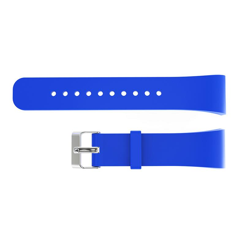 Image 2 - Silicone Soft Band 21CM Large Sized Replacement Smart Watches Wrist Strap Breathable Bracelet Accessories For Samsung Gear Fit2-in Smart Accessories from Consumer Electronics