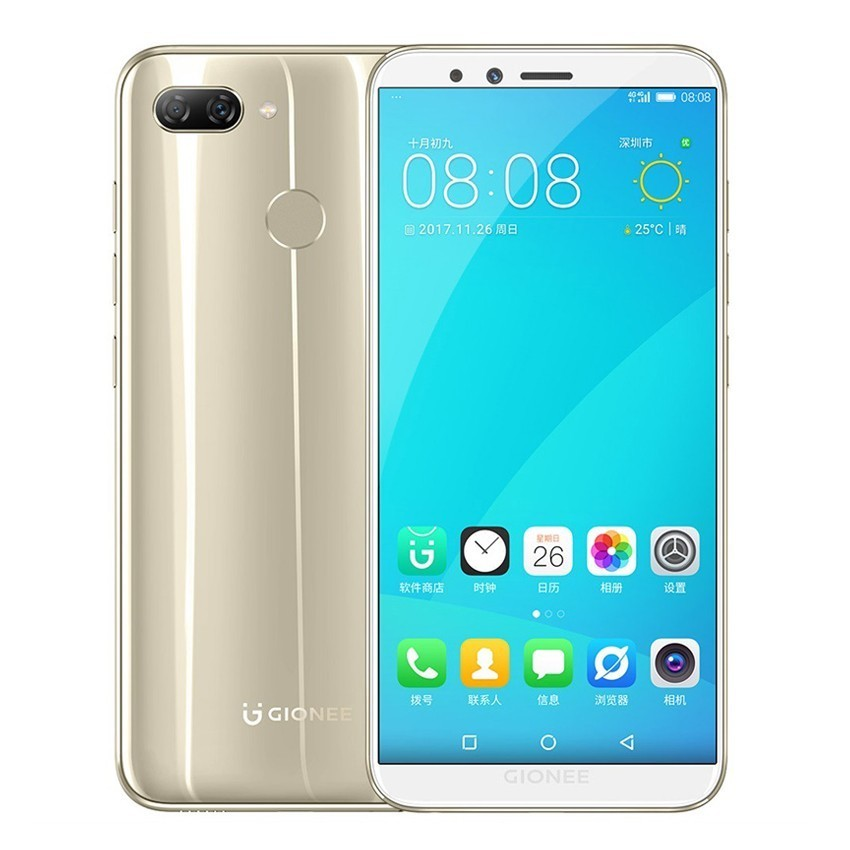 "Global version Gionee S11 Lite 4G Smartphone Android 7.1 Snapdragon 430 Octa Core mobile phone 5.7"" 4GB+64GB Unlock phones"