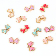10pcs Trendy Alloy Enamel Unicorn Pendants For Woman Girl Lovely Animal Cute Colorful Charms DIY Jewelry Accessories