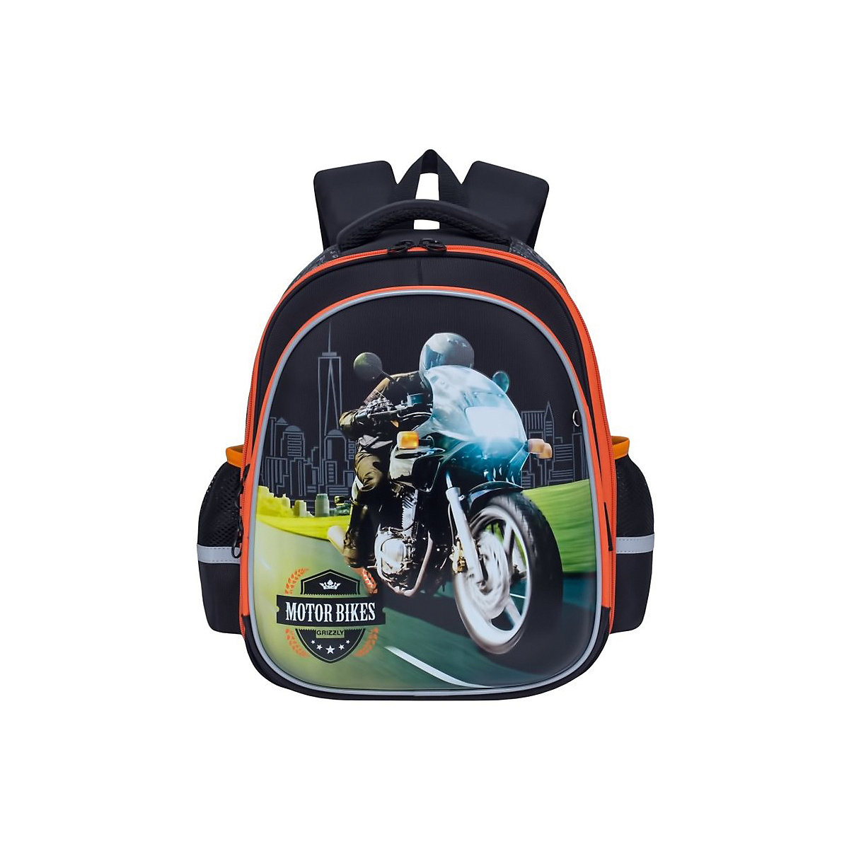 School Bags GRIZZLY 8317358 schoolbag backpack orthopedic bag for boy and girl animals flowers katekyo hitman reborn school bags anime rokudou mukuro hibari canvas messenger bag
