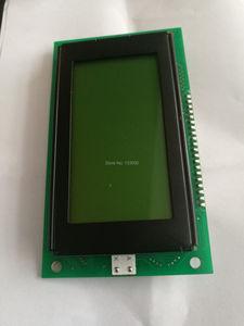 Image 3 - 1 יחידות ACM12864G ACM12864 LED תאורה אחורית צהוב ירוק תצוגת KS0107 KS0108 NJU7670 PCB ממד 113x65mm מקורי