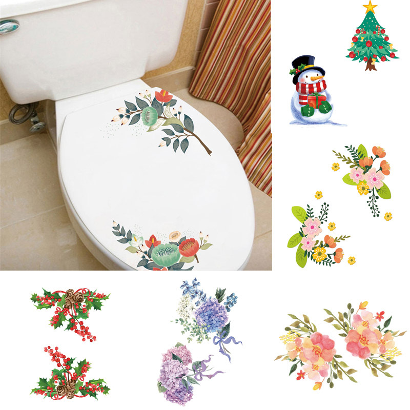 Online Shop Bunte Blumen Schrank Wc Badezimmer Dekor