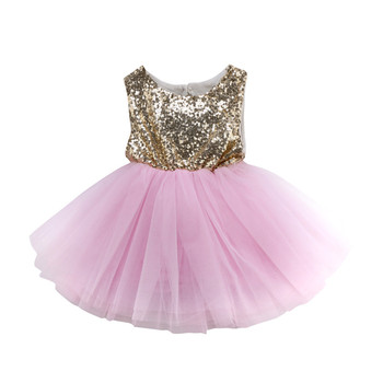 Baby Girls Formal Dresses Hot Sale Sequins Dress For Girls Kids Baby Girl Tutu Pageant Party Dress Girl Gown Bridesmaid Vestidos infant toddler pageant cute princess girls sequins flower party dress gown bridesmaid prom dresses