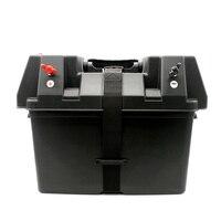 Multifuctional машины 12 V Батарея Box USB автомобилей Зарядное устройство с светодиодный вольтметр Экран для автомобилей Грузовик Лодка Трейлер внед