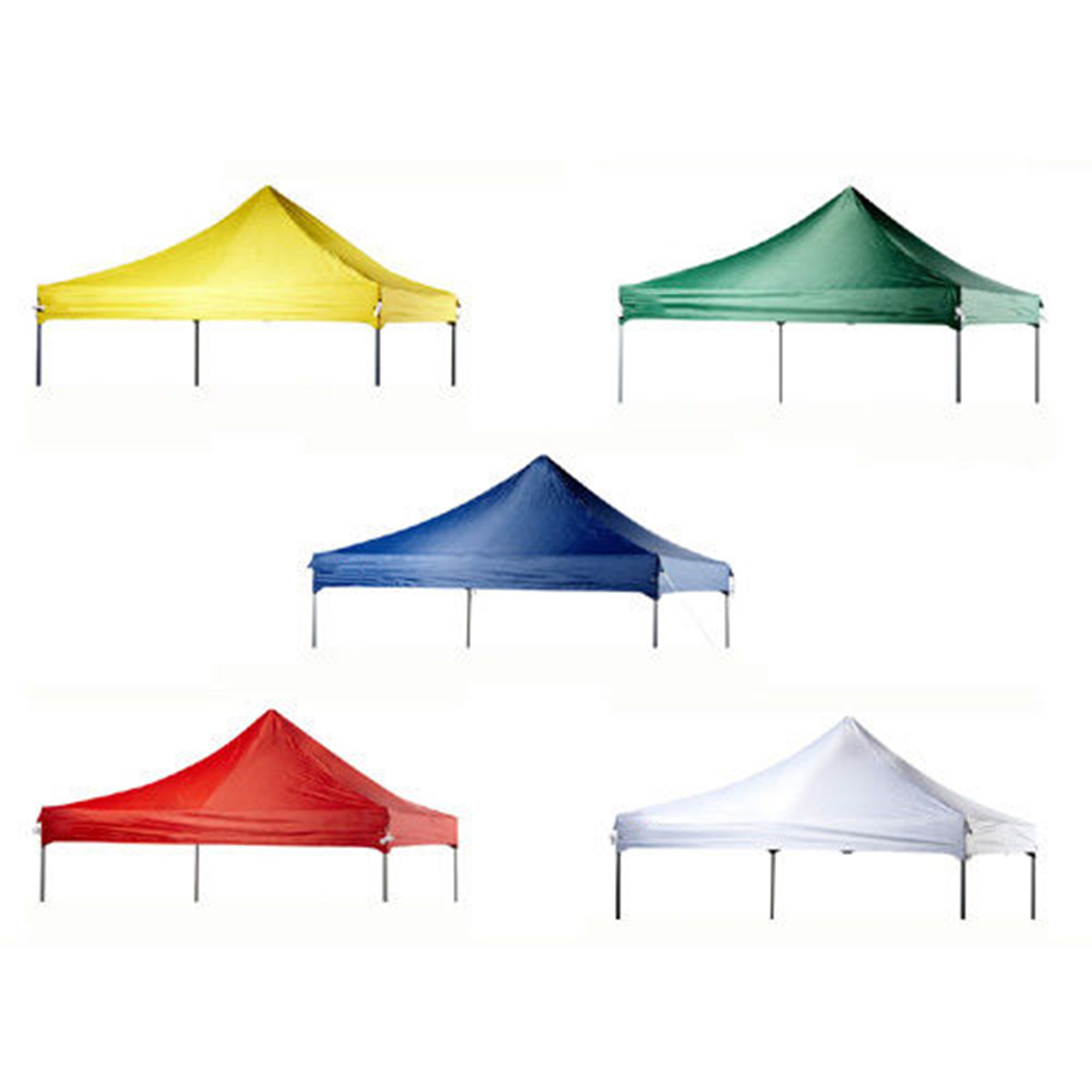 5 Colors 3x3M 300D Waterproof Camping Hiking Sun Shelter Tent Top Tarp Outdoor Replacement Cover Canopy Sunshade Sun Shelter New