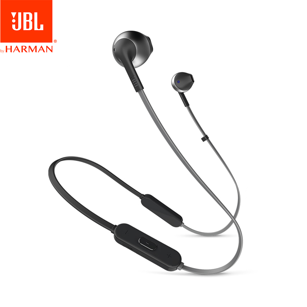 JBL Lifestyle TUNE 205BT Wireless Bluetooth Headphone Dynamic Neckband Headset Bluetooth 4 1 Sport earbud with