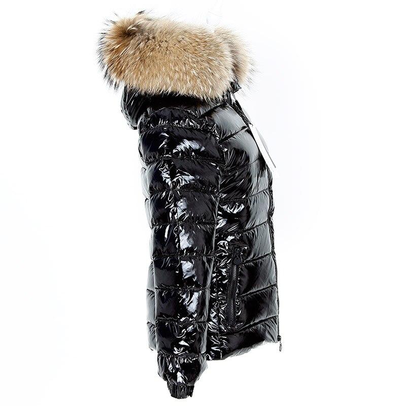 Short Canard Camperas Chaud Col Abrigo Parkas De Invierno 1 Manteau 2018 Laveur Femmes 1 Fourrure D'hiver Duvet Mujer Veste Réel Doublure long Raton AHAOqrfx