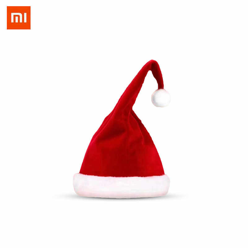 ef13e3c66078a Xiaomi Magic Fun Christmas Hat Stand Not Falling Size Adjustable Santa  Claus Hat Electric Singing Dancing
