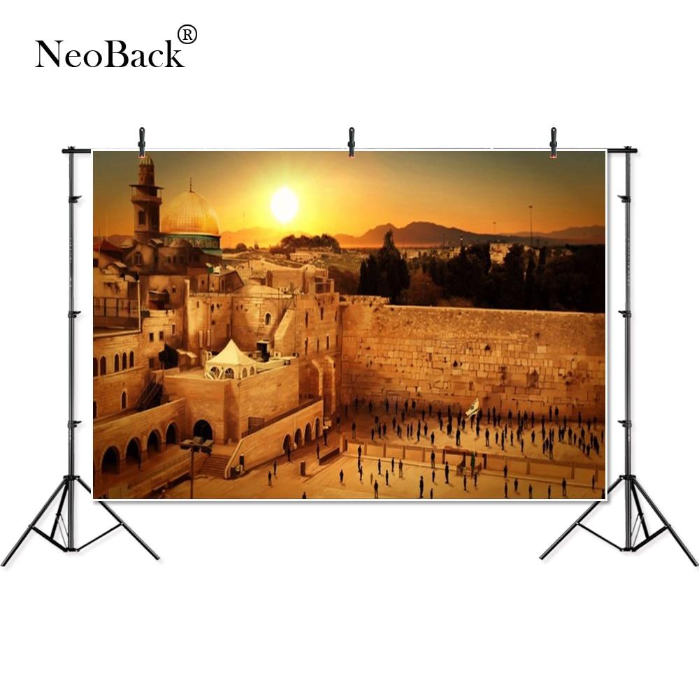 Thin Vinyl Israel Sunset Jerusalem West Wailing Wall Sunset Banner Photography Backgrounds Professional Studio Photo Backdrops