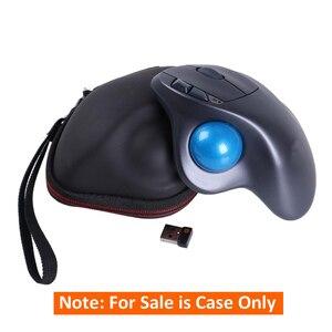 Image 5 - Eva sert koruyucu kılıf taşıma seyahat saklama çantası için Logich M570 kablosuz fare Trackball akülü
