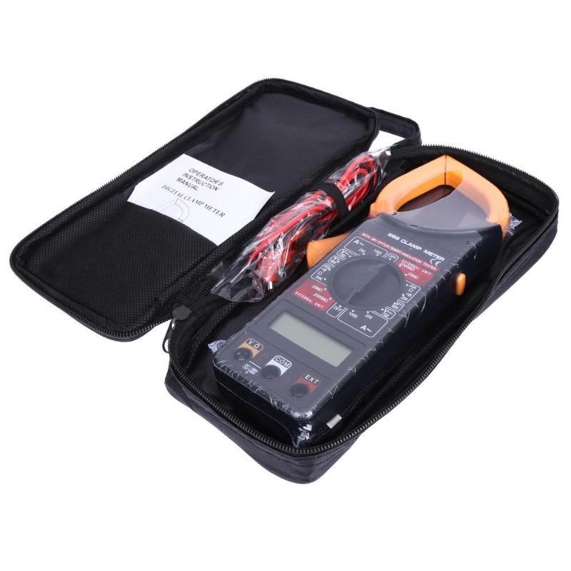 Цифровой вольтметр, амперметр, Омметр, мультиметр, вольт, AC DC, тест er, клещи, цифровой измеритель, тест, свинцовые электрические инструменты
