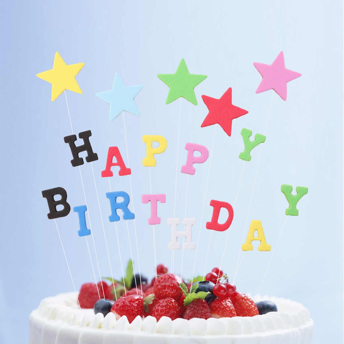 Fine Birthday Cake Toppers Non Toxic Diy Happy Birthday Cake Decoration Personalised Birthday Cards Epsylily Jamesorg