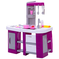 ABTOYS Kitchen Toys 9540191 Girls food for dolls vegetables food fruit happy baby tableware girl toy game play
