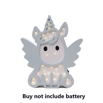 Unicorn Angel LED Night Light