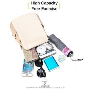 Image 4 - נשים תרמיל בית ספר סגנון עור תיק עבור מכללת פשוט עיצוב נשים מקרית Daypacks המוצ ילה נקבה מפורסם Brands168 325
