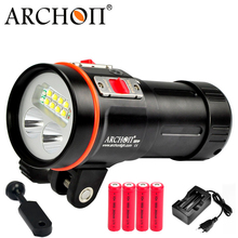 Archon D37VP/W43VP Diving Flashlight 5200lm 2 in 1 Underwater Video Light and Torch archon dv400 diving light led flashlight outdoor camera photography fill light lighting underwater video light torches