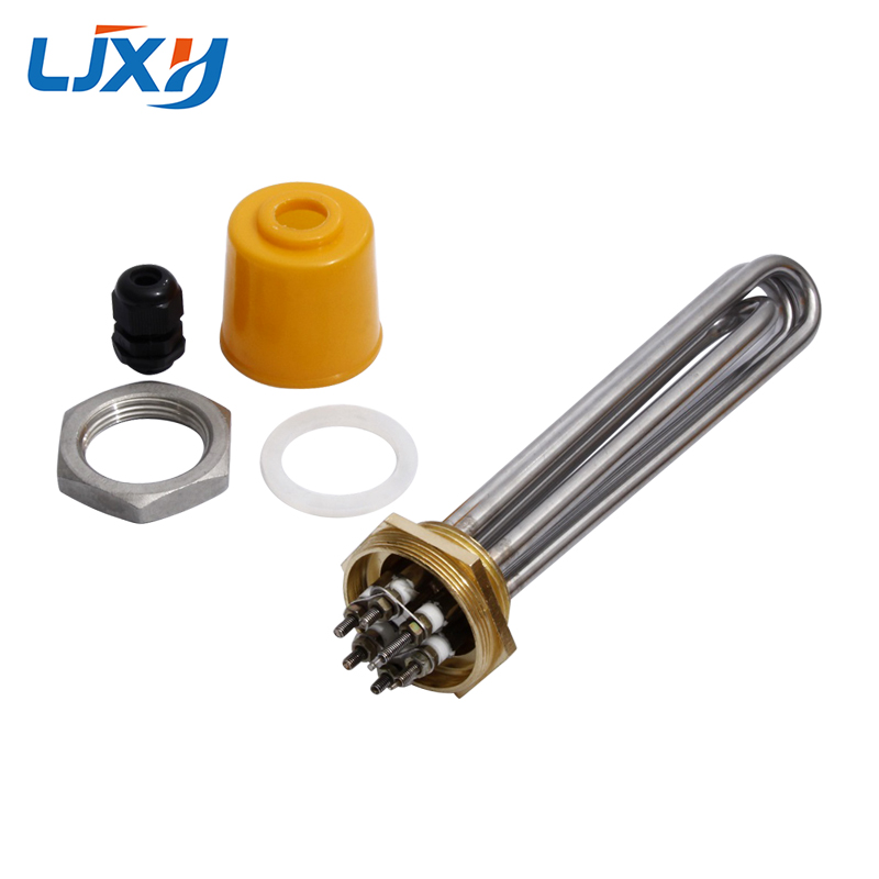 LJXH 220V/380V Immersion Water Heater Pipe DN32 Heating Element 1.2