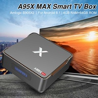 New TV BOX A95XMAX 4G+64G S905X2 Android 8.1 Movie WIFI Google Cast Recording Video Capture for External Hard Drive
