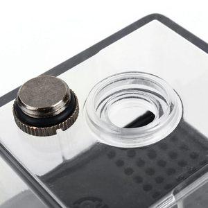 Image 4 - 水冷却循環ポンプ超静音水ポンプ & ポンプタンクパソコンのcpu液体冷却コンピュータシステムSC 300 t 12 12 v dc車