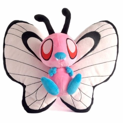 Pink Shiny Butterfree 30cm  Plush Toy Doll For Children