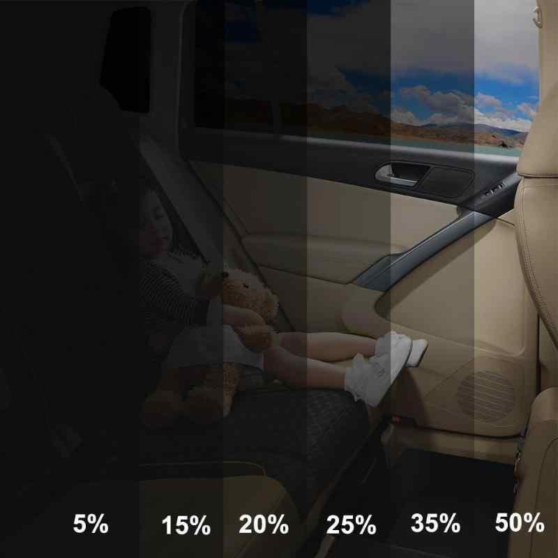 Filme colorido para vidro automotivo, rolo de 1m x 50cm com pintura para janela e para casa, carro e lateral janela casa comercial solar proteger