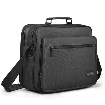 New Notebook Computer Bag Business Men's Briefcase Men Laptop Bag High Quality Waterproof Durable Oxford Cloth 12 13 14 Inch