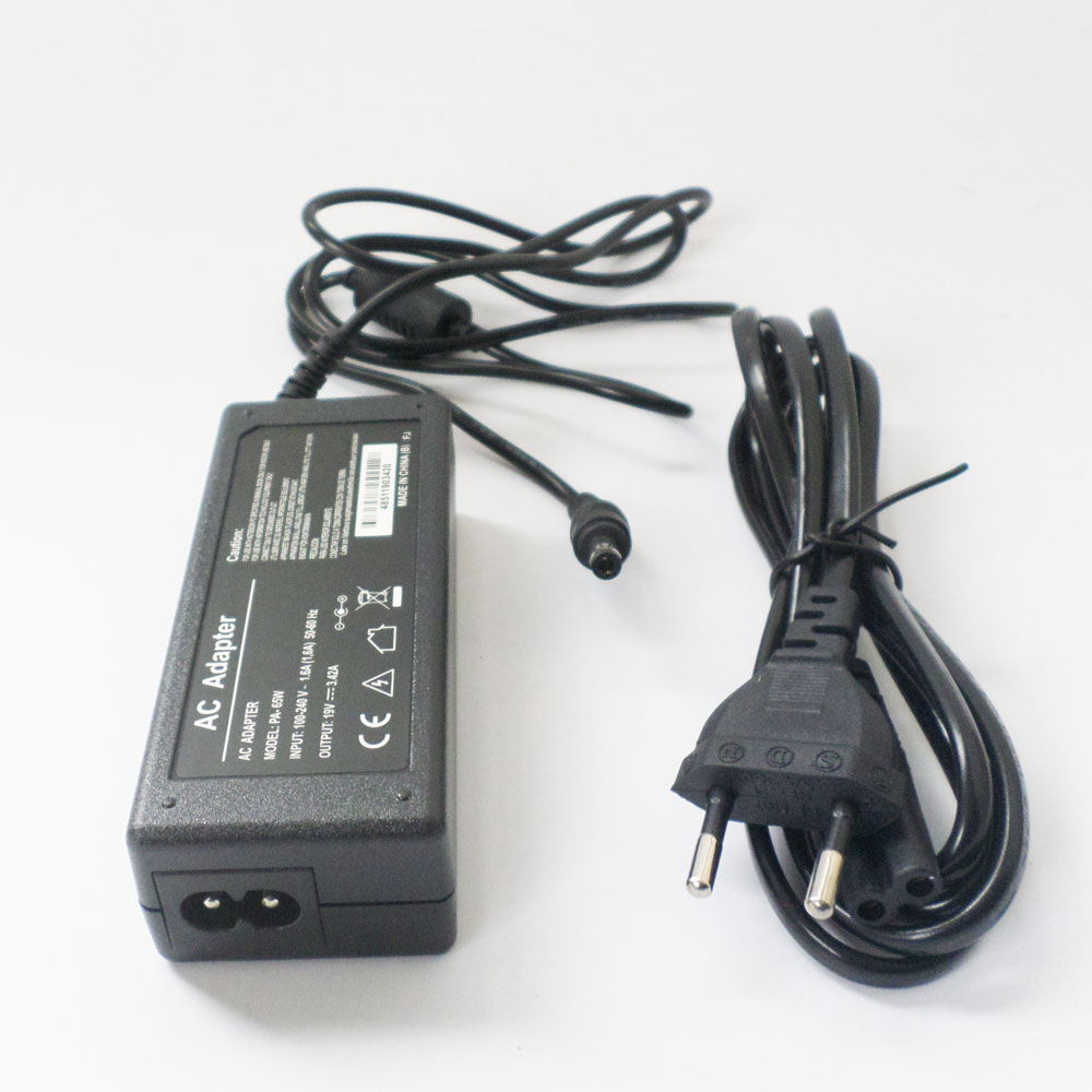 Laptop Power Charger Plug For Toshiba Satellite A135-S4467 L645D L645D-S4025 PA3714U-1ACA PA3714E-1AC3 <font><b>N17908</b></font> <font><b>V85</b></font> R33030 19V 65W image
