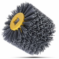 320grit 100*120mm Abrasives Wire Brush Wheel for 9741 Wheel Sander Furniture Polishing Grinding Buffing Wheel Woodworking Tools