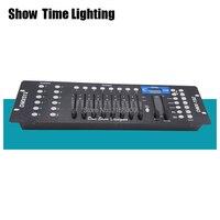 Горячая продажа 192 DMX консоль регулятор сценического освещения 192 каналов DMX-512 движущаяся головка led par контроллер по протоколу DMX Show Dieliquer