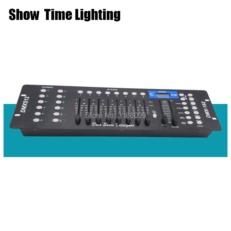 192 DMX Console Stage Lighting Controller DMX-512 Moving Head Led Par Controller DMX Show Stystem