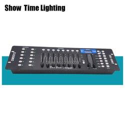 Gran oferta 192 controlador de iluminación de escenario de consola DMX 192 canales DMX-512 cabeza móvil led par controlador DMX Show dieliquet