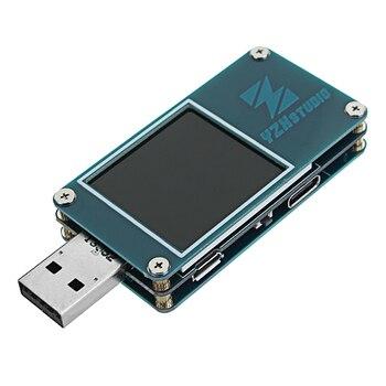 YZXstudio ZY1276 miernik koloru QC3.0 PD szybkie ładowanie Dragon USB prąd i napięcie Tester pojemności
