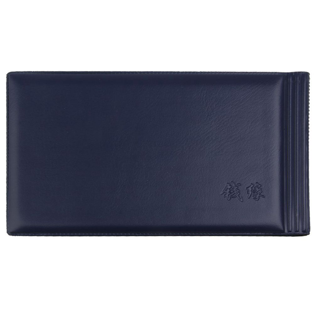 Banknote Currency Collectors Album Pocket Storage 30 Pages Royal blue in Card ID Holders from Luggage Bags