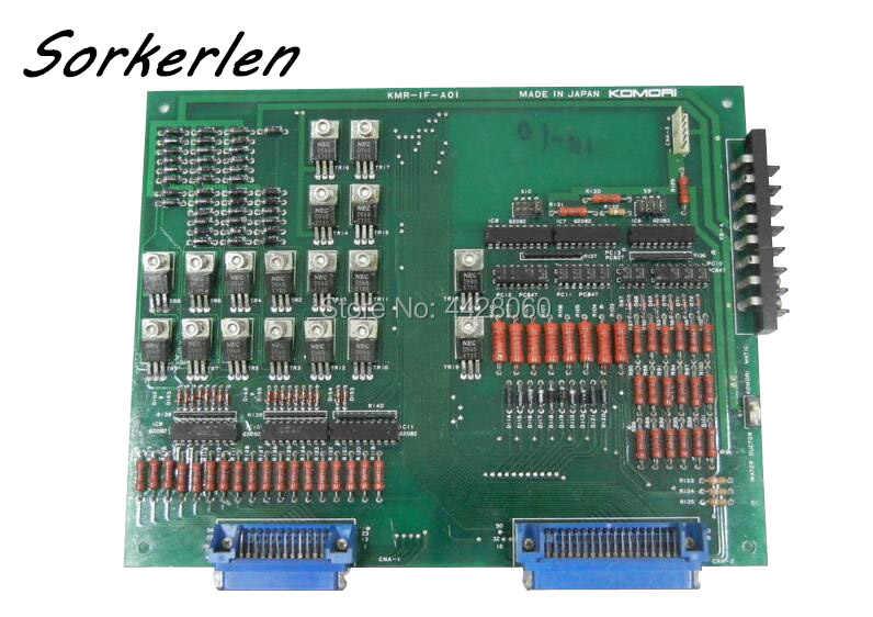 5GS-4400-010, 5GS4400010, KMR-IF-A01, Komori Lithrone เครื่องควบคุมบอร์ดอินเทอร์เฟซเดิมใช้อะไหล่
