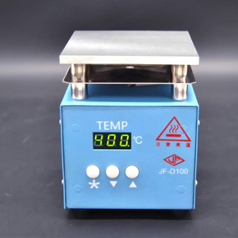10*10cm Preheating Station 220V 200W LCD Digital Electronic Hot Plate For Phone Screen Replace Preheat Soldering Station BGA Rew