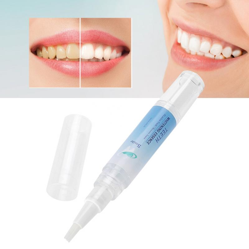 Oral Hygiene Teeth Whitener Pen Cleaning Plaque Stains Remover Teeth Whitening Pen (4ml)
