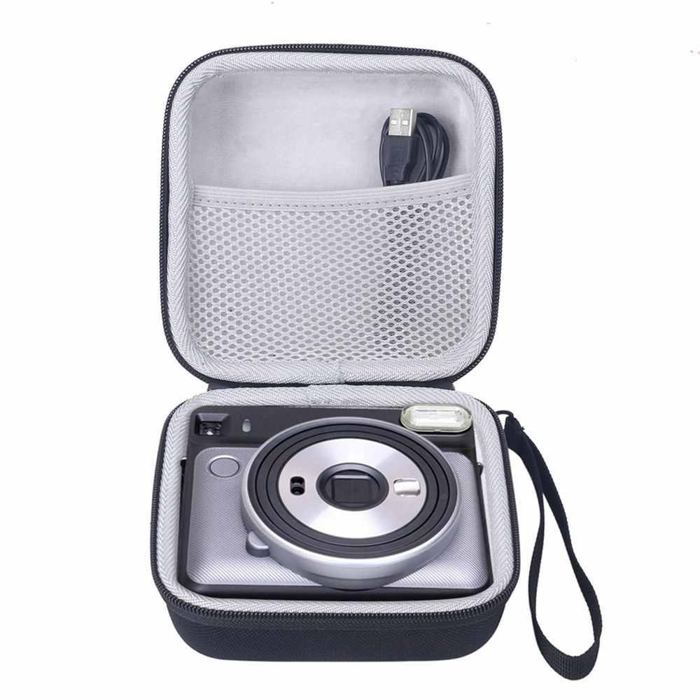 Protective Case For Fujifilm Instax Square SQ6 Instant Film Camera Mini Travel Carrying Bag Shell With Hand Strap Pouch Cases